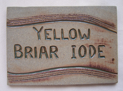 Yellow Briar Sign